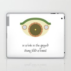 In a hole in the ground... Laptop & iPad Skin