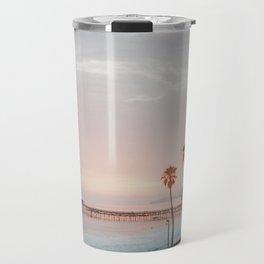 palm trees sunset vi / san clemente, california Travel Mug