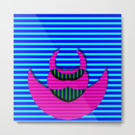 A crazy thing with stripes ... Metal Print