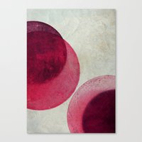circles Canvas Prints featuring circles by Claudia Drossert