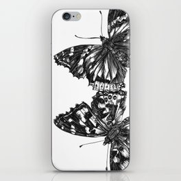 Butterfly Symmetry iPhone Skin