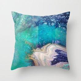 Glass Spill Throw Pillow