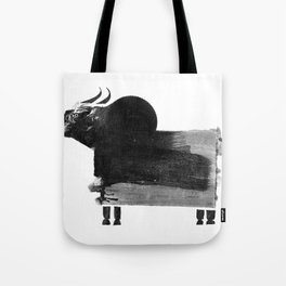 clumsy cow Tote Bag