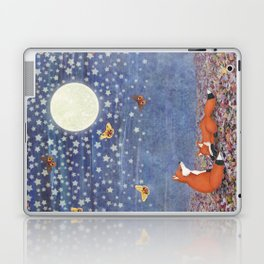 moonlit foxes Laptop & iPad Skin