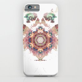 Rorschach inkblot XXVI iPhone Case