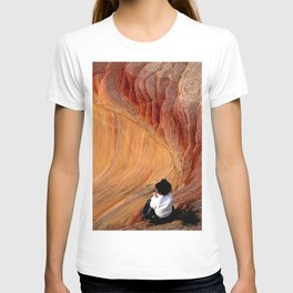Sitting In Solitude T-shirt