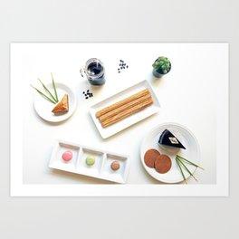 International Dessert Party Art Print