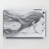 mermaid iPad Cases featuring Mermaid by Diego Fernandez