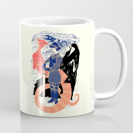 The Knight, Death, & the Devil Mug
