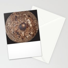 Musk and dreams of freedom Stationery Cards