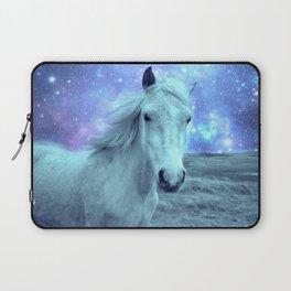 Blue Horse Celestial Dreams Laptop Sleeve
