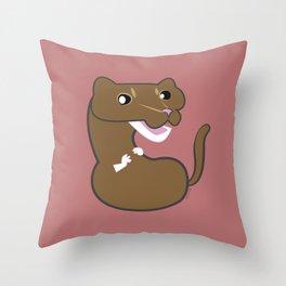 Neovison Mink tawny Throw Pillow