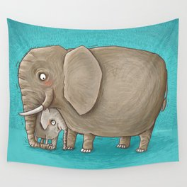 trunk nest Wall Tapestry
