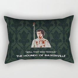 The Hounds of Baskerville - Sherlock Holmes Rectangular Pillow
