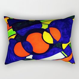 Life is A Empty Canvas Awaiting Our Creativity Rectangular Pillow