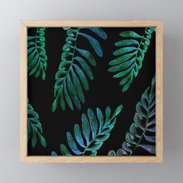 laves in the dark Framed Mini Art Print