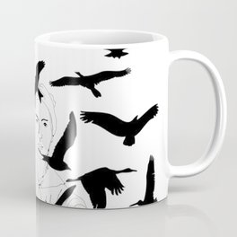 Hope is the Thing with Feathers Coffee Mug