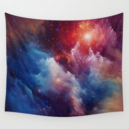 Misterious Space Wall Tapestry