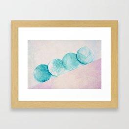 circles series Framed Art Print