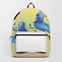 "Love Birds"" Backpack"
