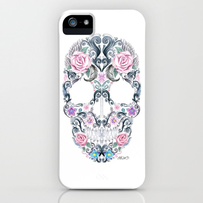 Colorskull iPhone Case