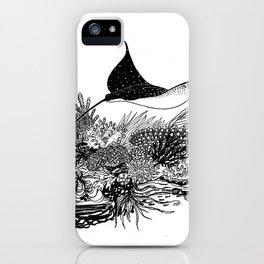 Eagle Ray iPhone Case