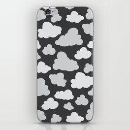 cloudy camo iPhone Skin