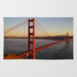 Golden Gate Bridge in San Francisco Rug