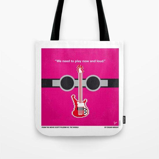 No236 My Scott Pelgrim minimal movie poster Tote Bag