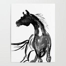 Horse (Ink sketch) Poster