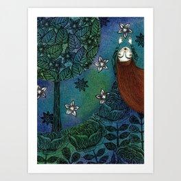 My Summer Stars Art Print