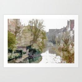 Brügge - Belgium Art Print