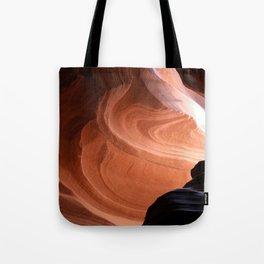 Antelope Canyon Reddish And Blue Tones Tote Bag