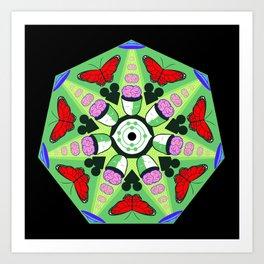 Mind Control (alternate) Art Print