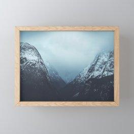 The Doors Of Gudvangen  Framed Mini Art Print