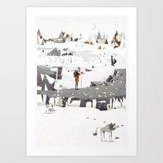 Explorer Art Print