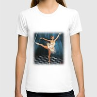 ballerina T-shirts featuring ballerina by Ancello