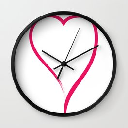 Ink Love Wall Clock