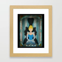 Shadow Collection, Series 1 - Slipper Framed Art Print