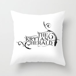 The Krytan Herald Throw Pillow