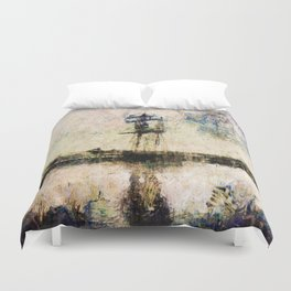 A Gallant Ship Duvet Cover