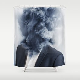 Business Shower Curtain