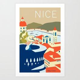 Nice – Daytime Version Art Print