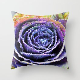 ABSTRACT BLOSSOM Throw Pillow
