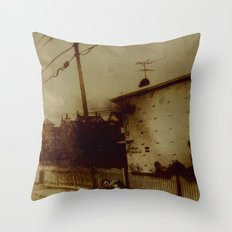 Wanted Man Throw Pillow