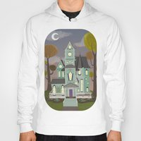 house Hoodies featuring House by Fran Court