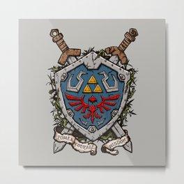 The shield Metal Print