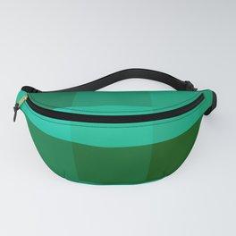 Pixels: Emerald Green Fanny Pack