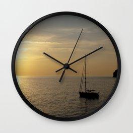 Sailing boat  Wall Clock