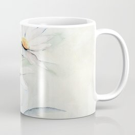 White Daisies Coffee Mug